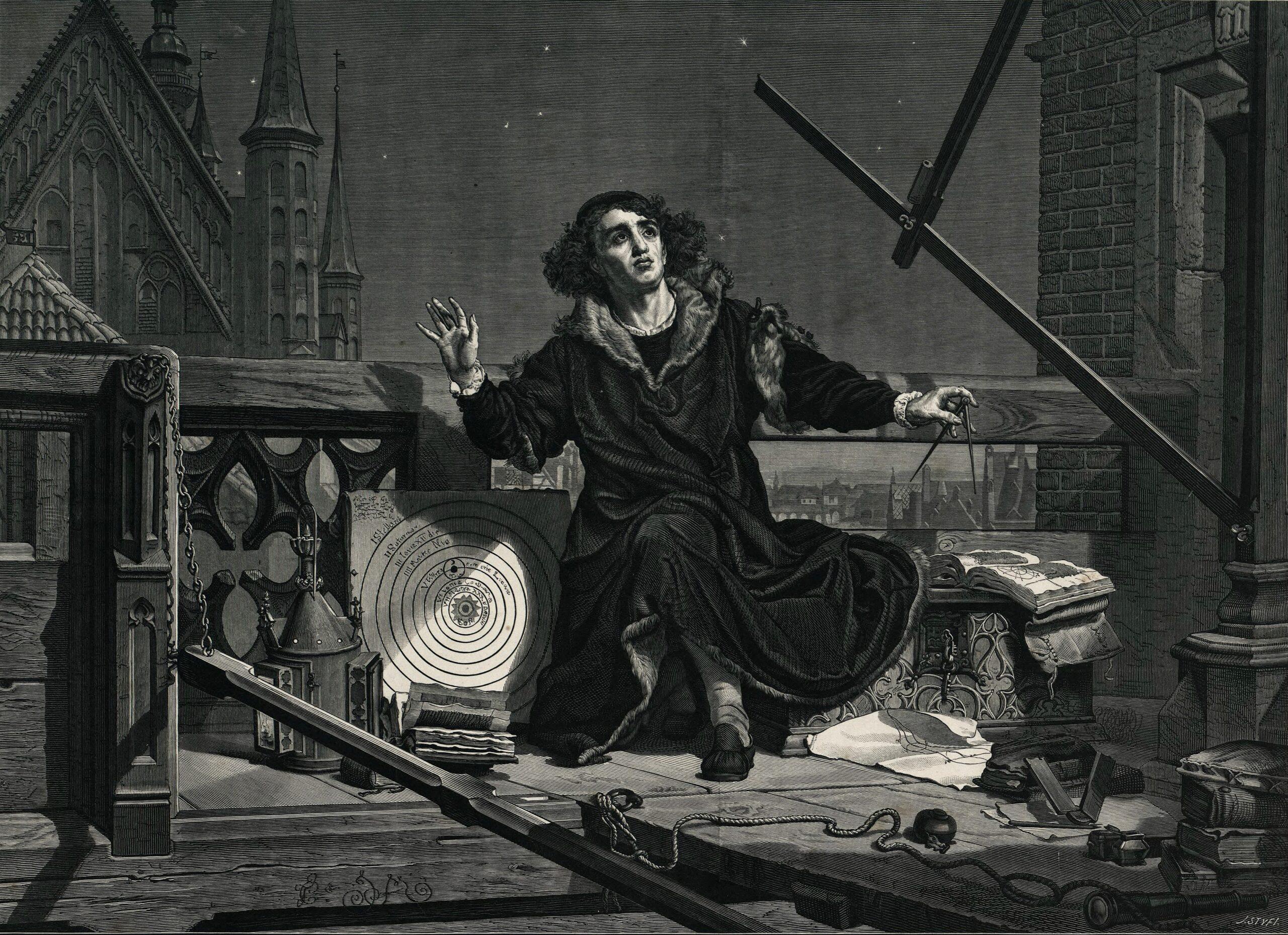 Николай Коперник. Гравюра
