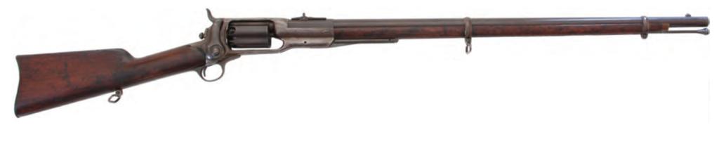Пятизарядная револьверная винтовка Кольта