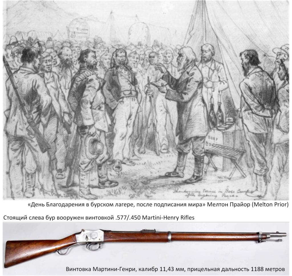 День благодарения и винтовка Мартини-Генри