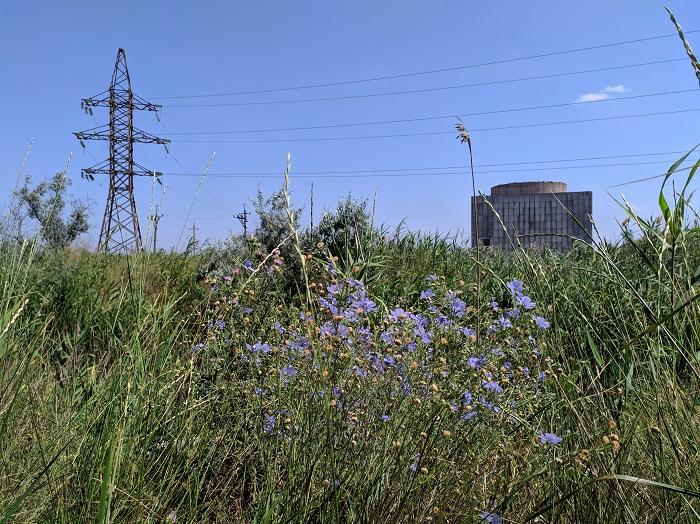 Заброшенный энергоблок Крымской АЭС
