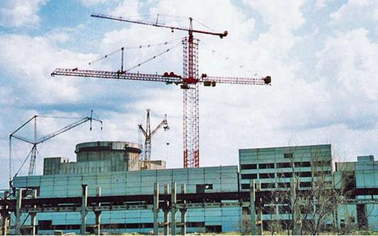 Строительство энергоблока Крымской АЭС