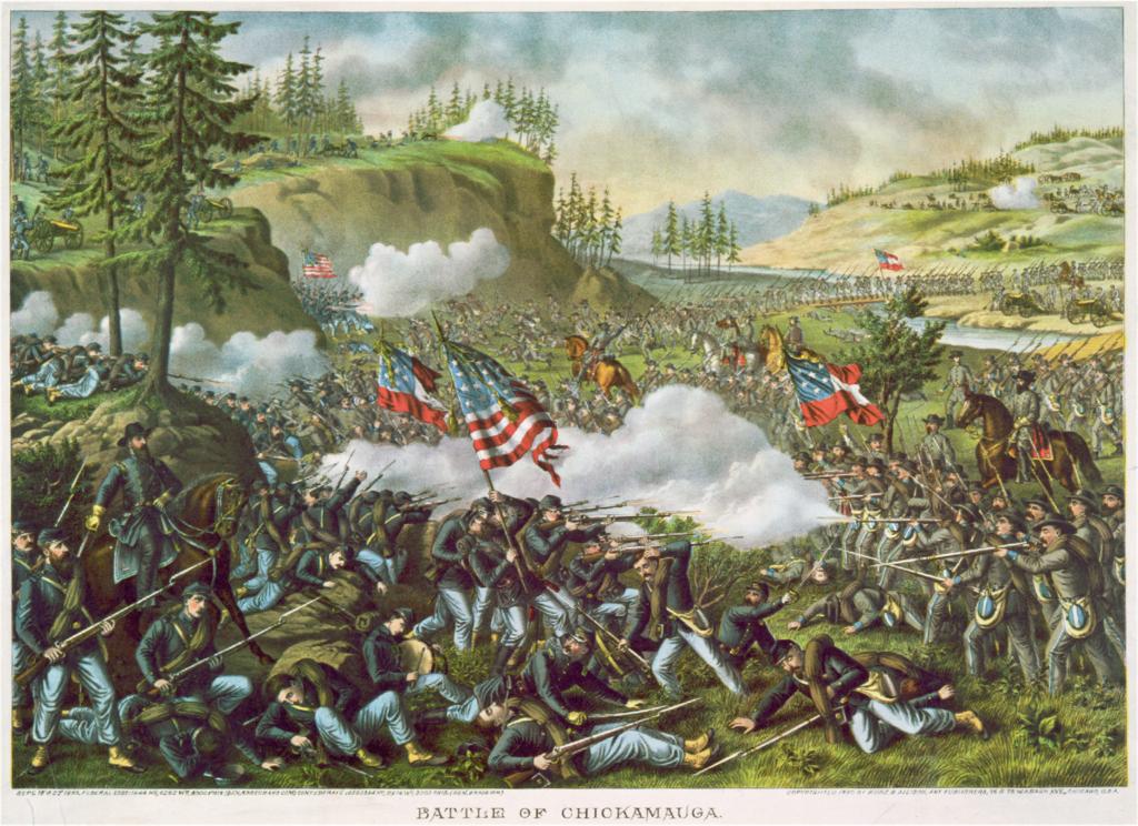 Битва при Чикамоге